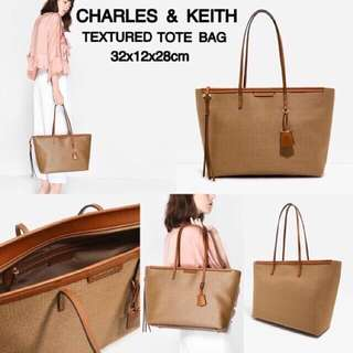 SALE!!!! CHARLES AND KEITH TOTE BAG TAS IMPORT WANITA