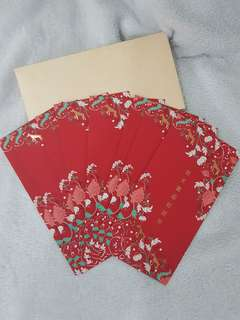 Parkroyal Ang Pow Hong Bao Red Packets Envelope