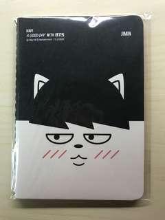 BTS Jimin hip hop monster official notebook