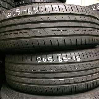 Used Yokohamma 205/65/15 Tyre