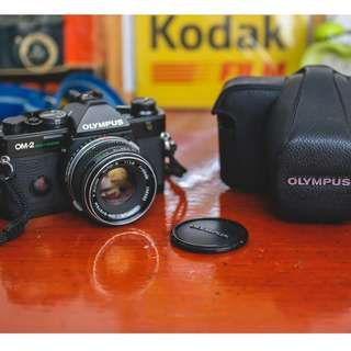 Olympus OM2sp/Spot Proram with Zuiko 50mm 1.8 chrome nose