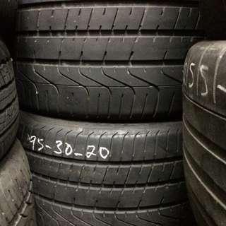 Used Pirelli PZERO 295/30/20 Tyre