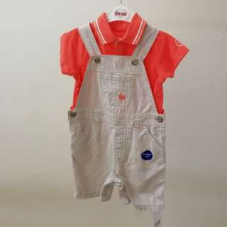 Mothercare 2 pcs Overall 12-18 months
