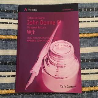 John Donne and W;t - Top Notes