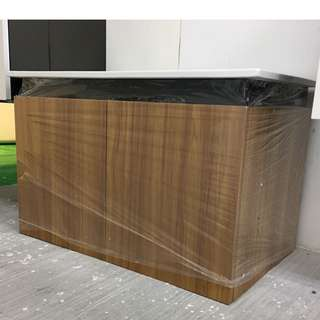 STAINLESS STEEL BASIN CABINET
