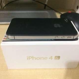 iPhone 4s ios8 八成新 mon 帖碎咗 100%work