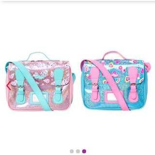 Smiggle satchel lunchbox