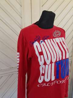 Counter Culture Red Longsleeves