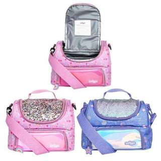 Smiggle dreamy double strap lunchbox