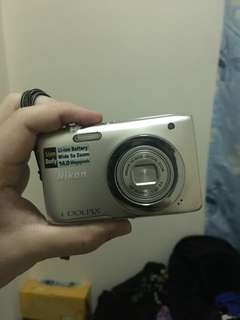 Nikon Camera COOLPIX s2600 14MP URGENT SELLING