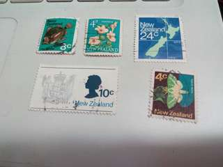 New Zealand Stamps #M155