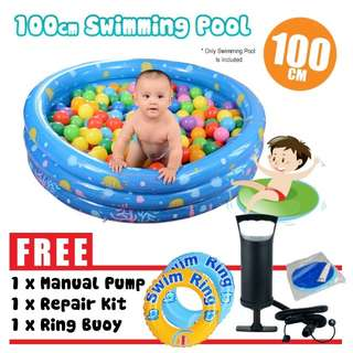 Outdoor play swimming inflatable