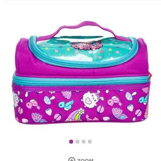 Smiggle squad double decker lunchbox (purple