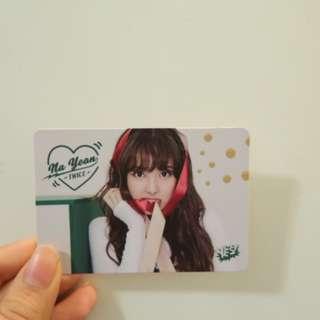 TWICE NAYEON 林娜璉 YES! CARD