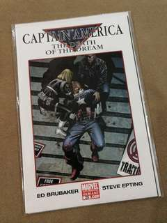 Captain America The Death Of The Dream