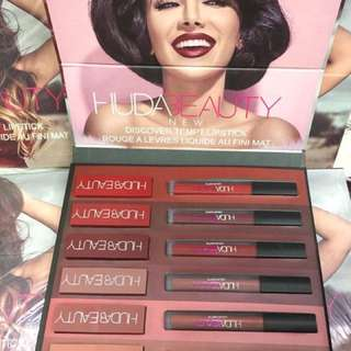 💋Huda Beauty Matte & Gloss 12pc