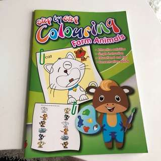 Step by step coloring for beginner