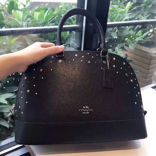 Coach Sierra Satchel with Stardust Studs