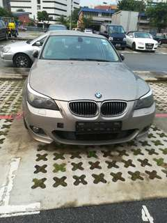BMW 520i whole car spare part available