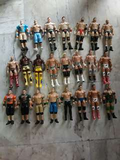 WWE Used Basic Figures