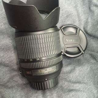 Nikon Nikkor af-s 18-105mm vr Lens