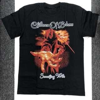 Children of Bodom - Something Wild T-shirt Band Merch (M)