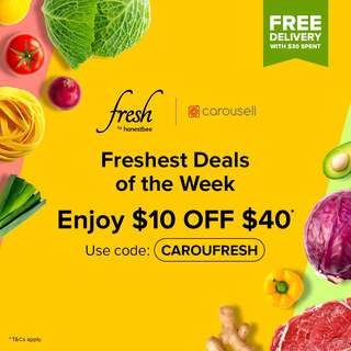 Freshest Deals of the Week