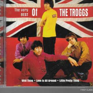 MY PRELOVED CD - THE VERY BEST OF THE TROGG  /FREE DELIVERY (F3V)