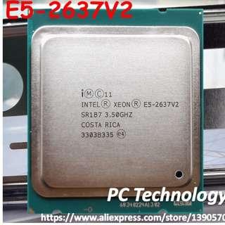 Intel X79 主機板 +xeon E5-2637 2.7G /15M 4C8T (+16GB MEMORY)