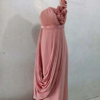 Baju pink longdress