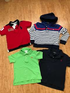 Polo Shirts Size 24 mths - 2 toddler