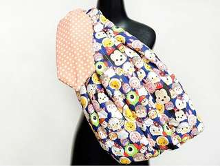 Baby Sling with Ring type - Winter Tsumtsum