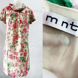 Dress bunga MINT