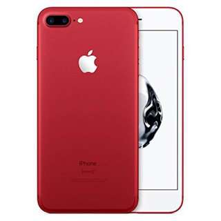 iPhone 7 Plus 256 red