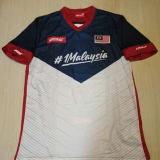 Limited edition Malaysia national soccer jersey
