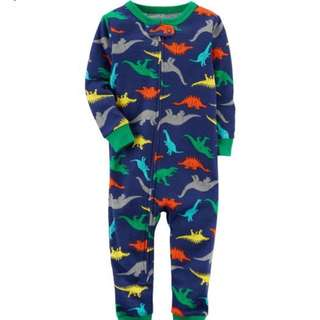 Carter's dino footless Pyjamas