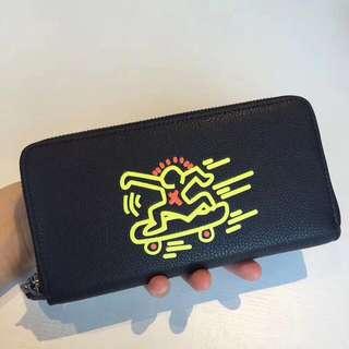 Coach Long Wallet X Keith Haring