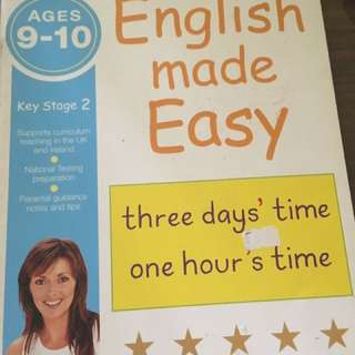 English book for 9-10 years old