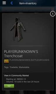 [PUBG] Player Unknown's Trench Coat