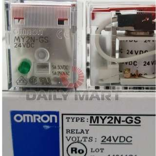 OMRON RELAY DC24,OMZ MY2N-GS,DC24