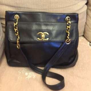Chanel vintage 2 way bag