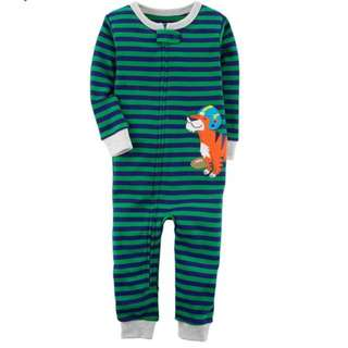 Carter's Tiger footless Pyjamas