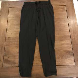 Stradivarius silk trousers