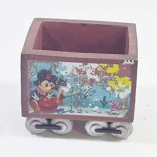 Disney (US) 米奇 Bloc 28 火車卡 筆/文具座 Mickey Bloc 28 Train Cart Pen/Clip/Post Tape Holder