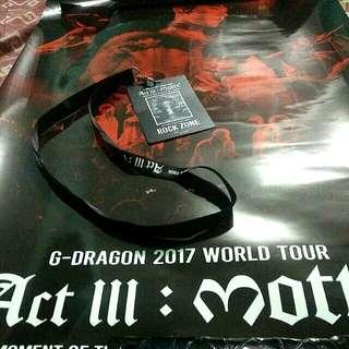 Free 📮 G Dragon MOTTE in KL official merch