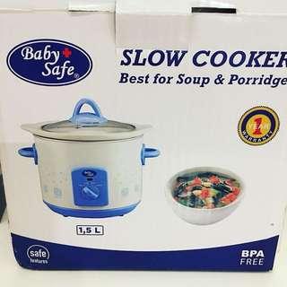 Baby safe slow cooker 1,5L