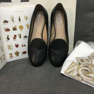 CO abc flatshoes size 37,5 (fit to 38) with removable stickers and box