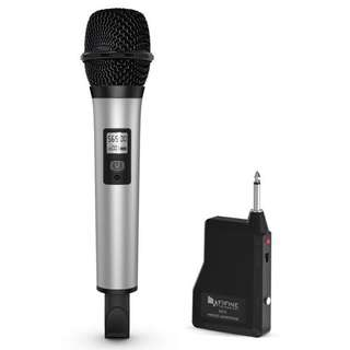 Fifine Technology UHF Handheld Portable Wireless Microphone, K035