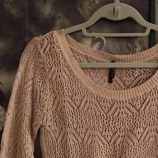 Bayo Nude Knit Sweater