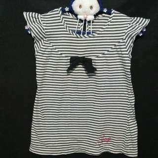 ❤ Kaos Baby Doll Stripes JSP Ori